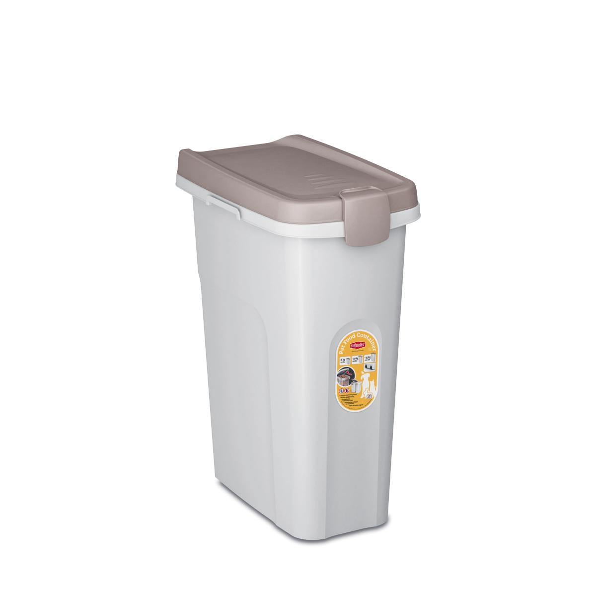 Stefanplast контейнер для корму, світло-бежевий/білий