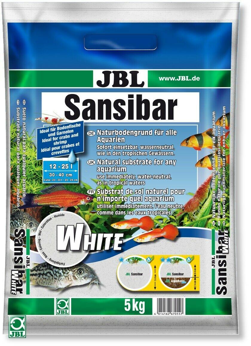 JBL Sansibar White – білий декоративний пісок для акваріума і акватераріума