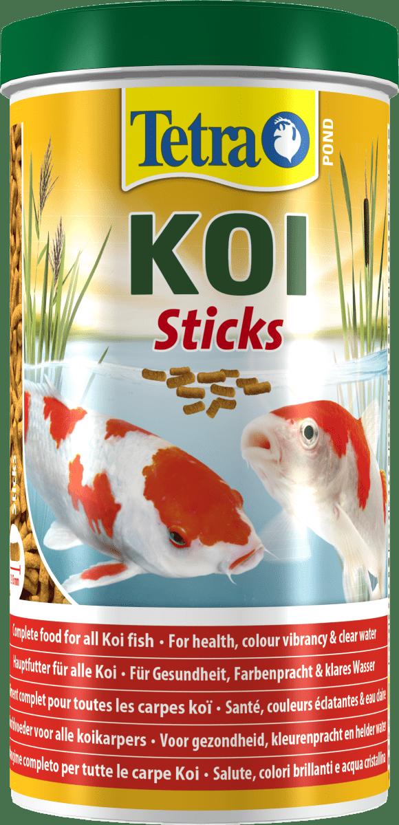Tetra Pond Koi Sticks – корм для прудовых рыб в палочках