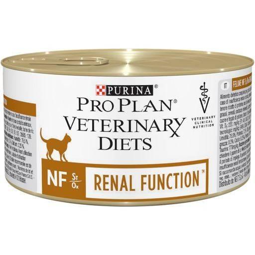 PRO PLAN VETERINARY DIETS NF RENAL FUNCTION FELINE FORMULA лечебный консервированный корм для взрослых котов с заболеваниями почек