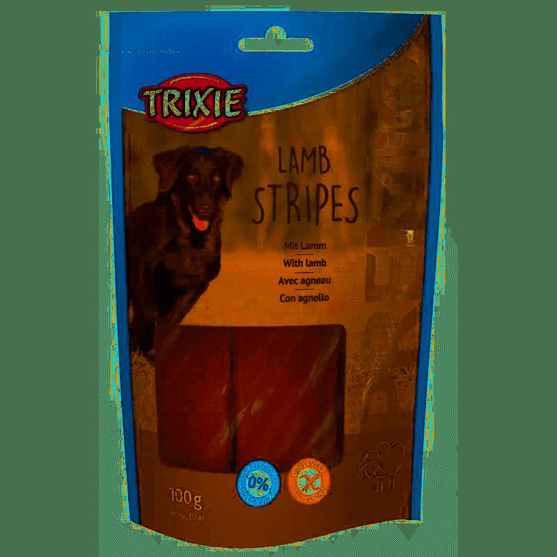 Trixie Premio Lamb Stripes – м'які ласощі з ягням для собак