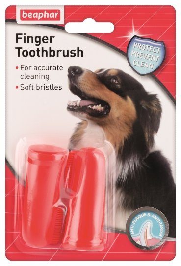Beaphar Finger Toothbrush – зубная щетка на палец для чистки зубов у собак
