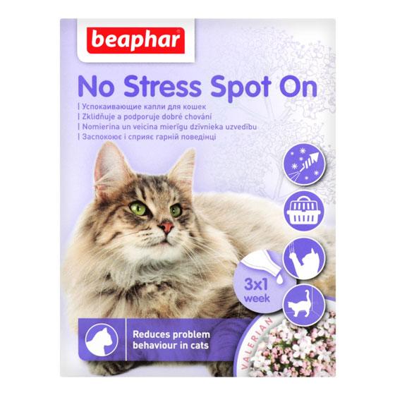 Beaphar No Stress Spot On – краплі антистрес для котів