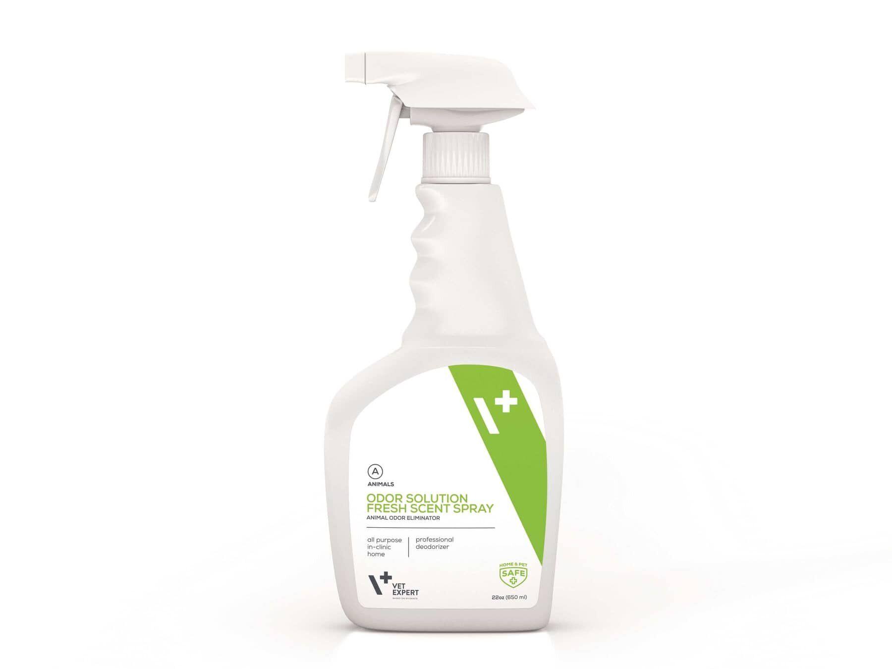 VetExpert Odor Solution Fresh Scent Spray – професиональный уничтожитель запахов от животных.