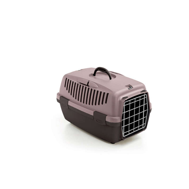 Stefanplast Gulliver 1 переноска с металлической дверью для собак и кошек весом до 5 кг, 48×32×31 см