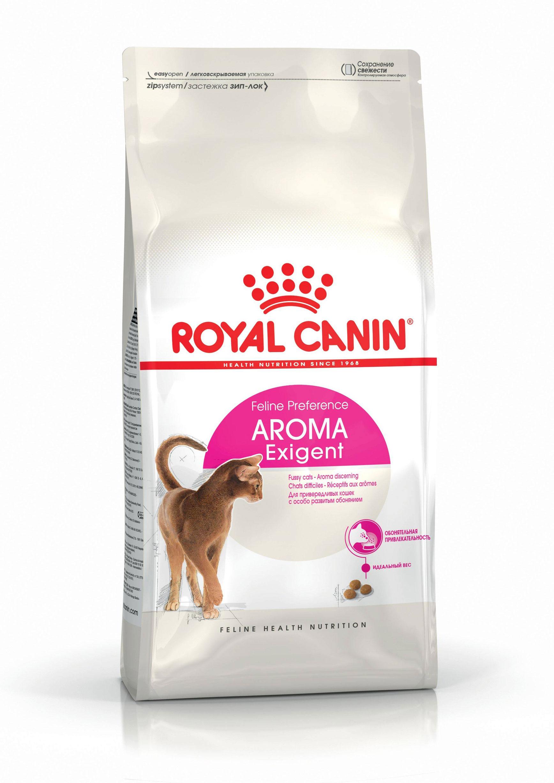 ROYAL CANIN AROMA EXIGENT – сухой корм для взрослых котов, привередливых к аромату корма