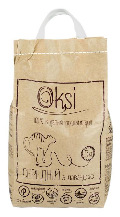 Oksi средний наполнитель с лавандой для туалета