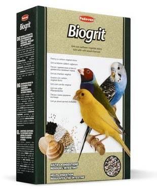 Padovan Biogrit – мінеральна підгодівля для декоративних птахів