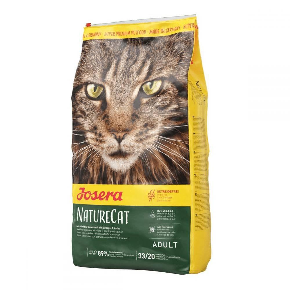 JOSERA NATURECAT – сухой корм для котят старше 6 месяцев и взрослых котов