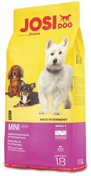 JOSIDOG MINI – сухой корм для взрослых собак малых пород