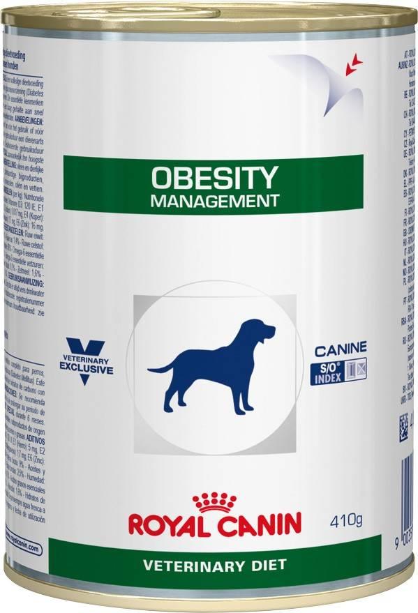 ROYAL CANIN OBESITY CANINE – лікувальний вологий корм для собак при ожирінні