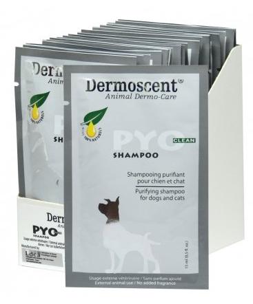 Dermoscent PYOclean Shampoo – очищающий шампунь при кожных заболеваниях у собак и кошек