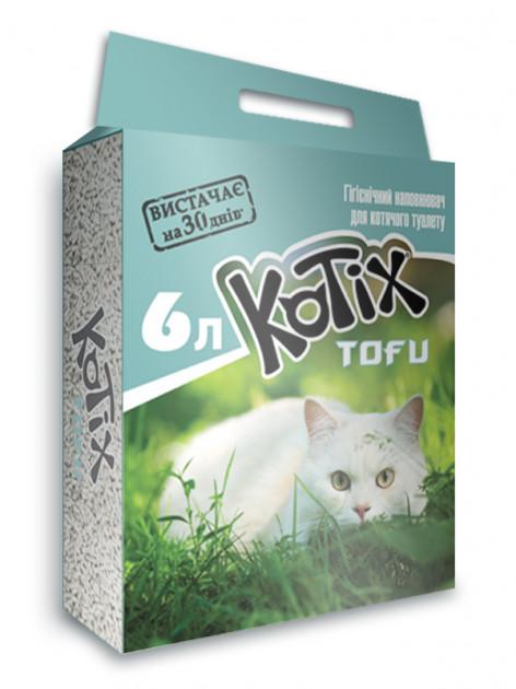 Kotix Tofu Classic – соевий наполнитель для кошачьего туалета