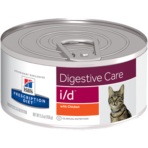 HILL'S Prescription Diet Feline I/D – лікувальний вологий корм із куркою для котів із розладами травлення і в період одужання