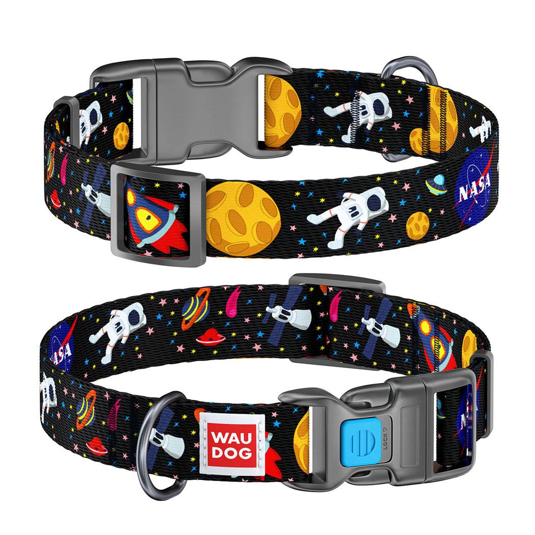 "WAUDOG Nylon ""NASA"" нейлоновий нашийник для собак"