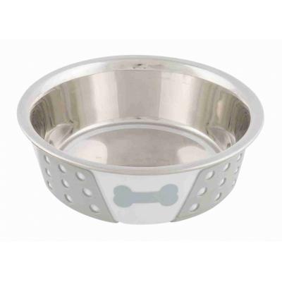 Trixie металева миска з силіконовим покриттям