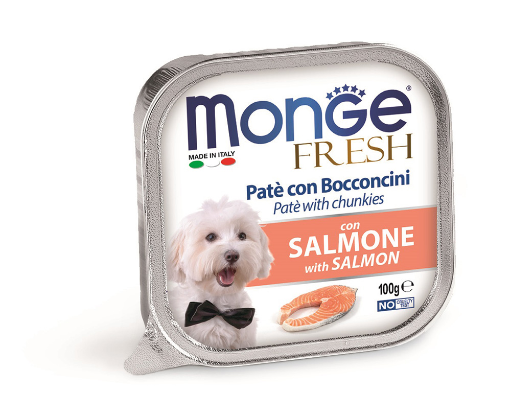 Monge Fresh Salmon – консерви з лососем для собак