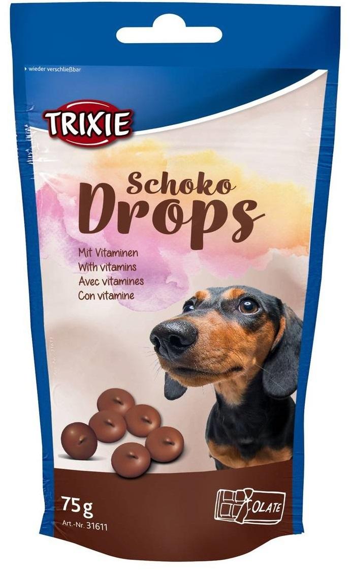 Trixie лакомство со вкусом шоколада для собак