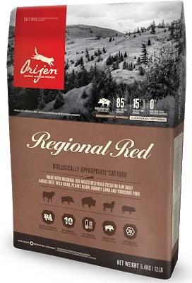 ORIGEN REGIONAL RED CAT – сухий беззерновий корм для котів усіх порід та стадій життя