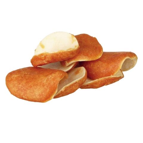 Trixie DENTAFUN Chewing Chips лакомство с сыромятной кожей и куриным мясом для собак