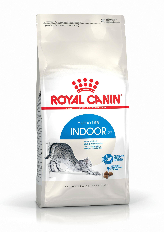 ROYAL CANIN INDOOR – сухой корм для взрослых кошек