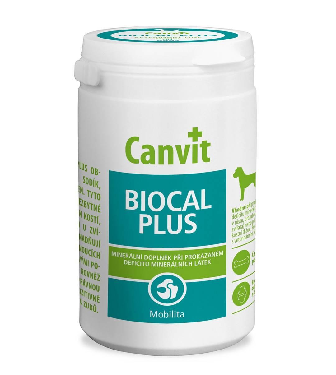 CANVIT BIOCAL PLUS  – мінеральна добавка для собак для поліпшення рухливості