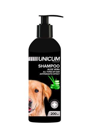 UNICUM premium шампунь-кондиционер с алое вера для собак