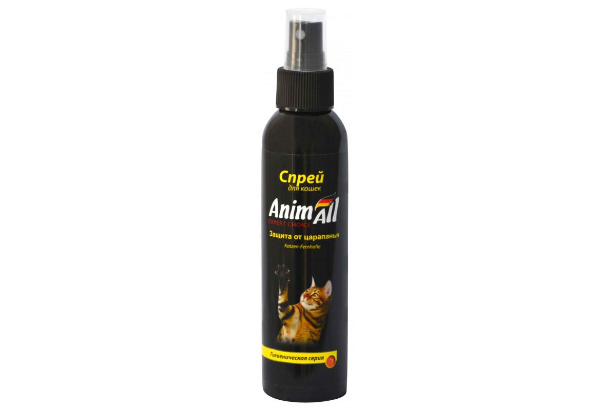 AnimAll спрей-защита от царапанья для котов