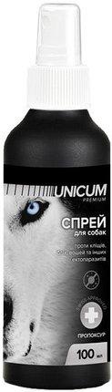 UNICUM premium спрей від бліх і кліщів для собак