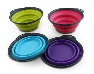 DEXAS Collapsible Travel Cup складна миска з карабіном, 240 мл