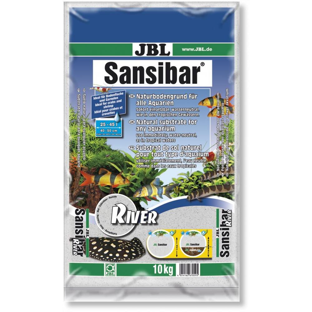JBL Sansibar River – річковий декоративний пісок для акваріума і акватераріума