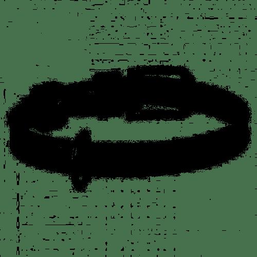WAUDOG Glamour M – ошейник для собак, 20 мм, 30-39 см