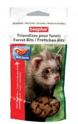 Beaphar Xtra Vital Ferret Bits – ласощі для тхорів з мальт пастою