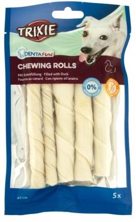 Trixie DENTAFUN Chewing Rolls ласощі з сириці з качкою для собак