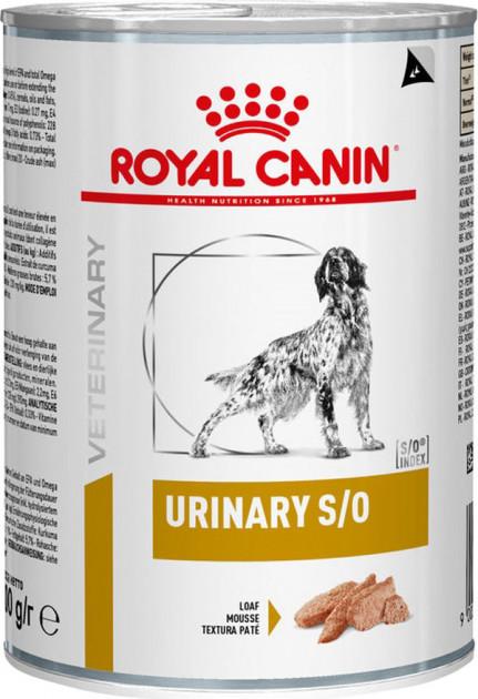 ROYAL CANIN URINARY S/O CANINE – лечебный влажный корм для собак при мочекаменной болезни