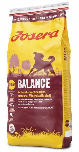 JOSERA BALANCE – сухой корм для взрослых собак с низкой активностью