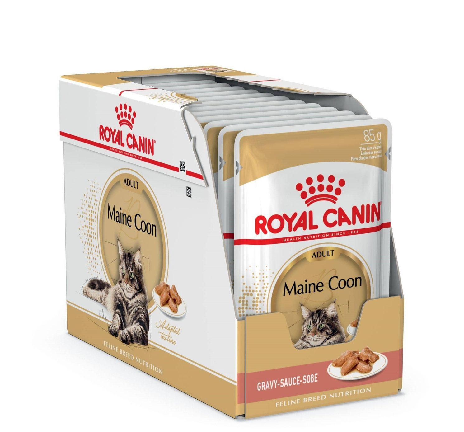 ROYAL CANIN MAINE COON ADULT – влажный корм для взрослых котов породы мейн-кун