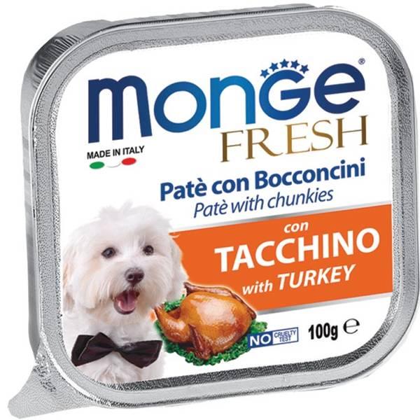 Monge Fresh Turkey – консерви з індичкою для собак