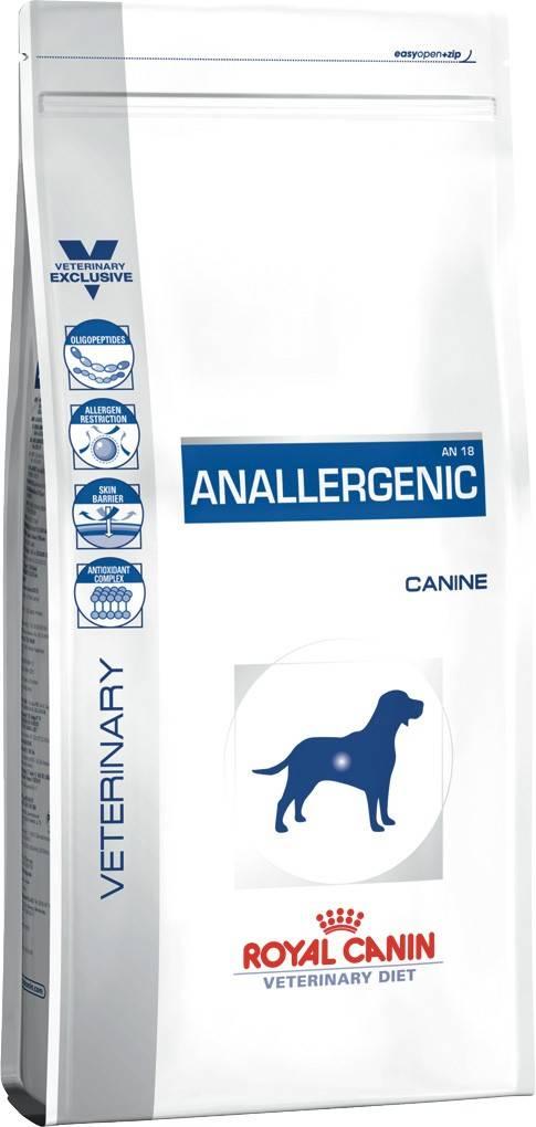 ROYAL CANIN ANALLERGENIC CANINE – лікувальний сухий корм для собак з харчовою алергією, непереносимістю і гіперчутливістю