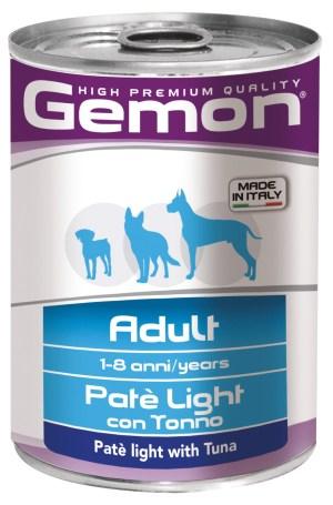 Gemon Dog Adult Pate with Tuna - консерви з тунцем для дорослих собак