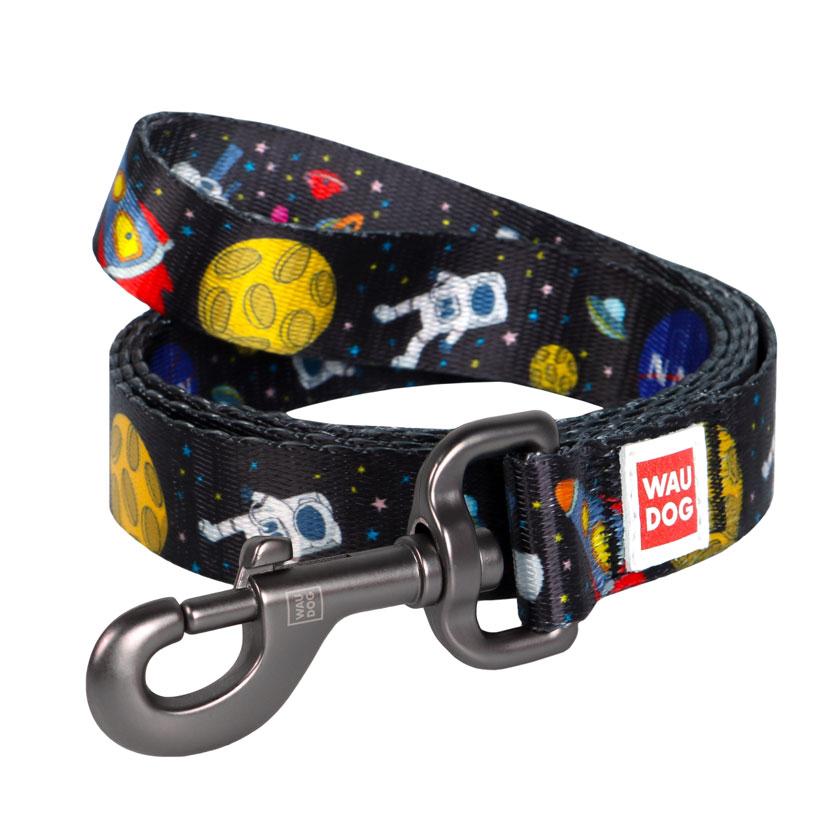 "WAUDOG Nylon ""NASA"" поводок для собак, 122 см"