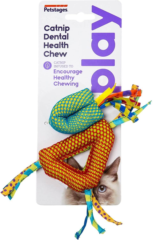 PETSTAGES CATNIP DENTAL HEALTH CHEW – игрушка для кошек