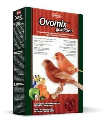 Padovan Ovomix Rosso – дополнительный корм для птиц