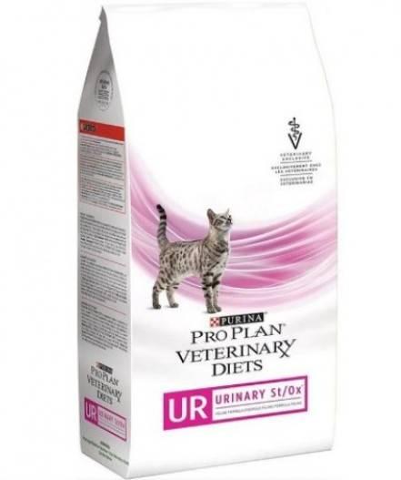 PRO PLAN VETERINARY DIETS UR URINARY FELINE FORMULA лікувальний сухий корм для дорослих котів при захворюваннях нижніх сечовивідних шляхів