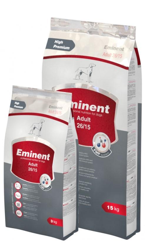 Eminent ADULT – сухий корм для собак середніх та малих порід з куркою