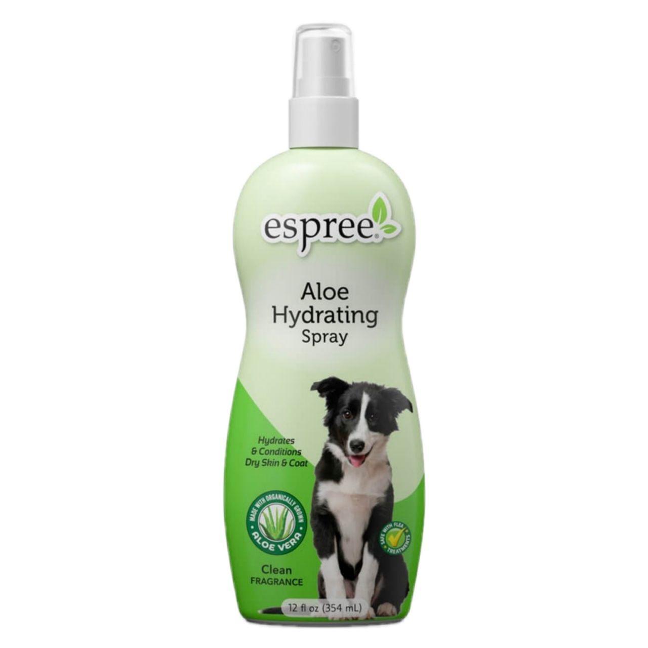 Espree Aloe Hydrating Spray –  суперувлажняющий спрей для кожи и шерсти собак