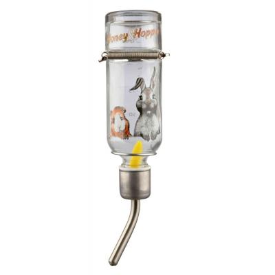 Trixie Honey&Hopper – автоматическая стеклянная поилка для грызунов