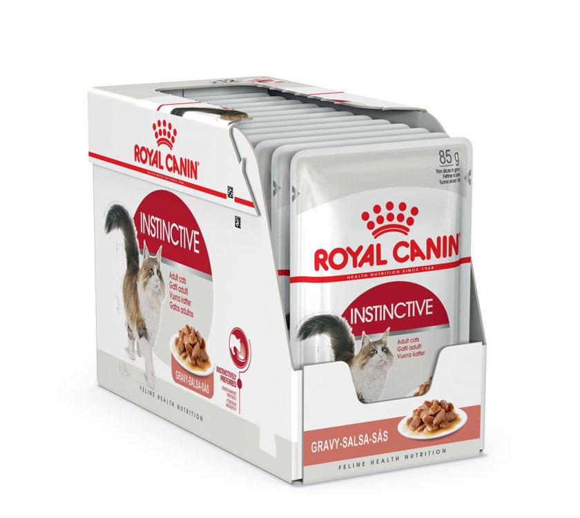 ROYAL CANIN INSTINCTIVE wet in gravy – влажный корм для взрослых котов