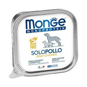 Monge Solo Polo консервы с курицей для собак