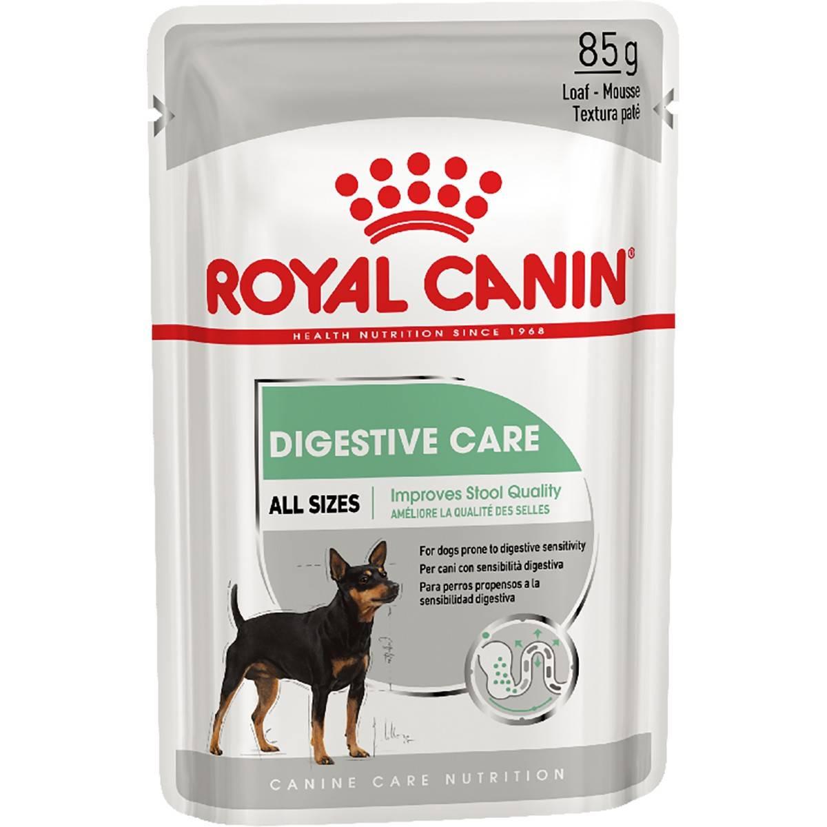 ROYAL CANIN DIGESTIVE CARE ALL SIZES – вологий корм для собак з чутливою травною системою